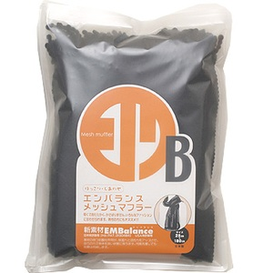 EMBalance(エンバランス メッシュマフラー ブラック