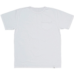 EMBalance(エンバランス ポケット付きTシャツ M ホワイト