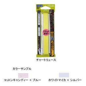 がまかつ(Gamakatsu) GAMAKATSU オリジナル シリコンスカート フラット 0.6mm ホワイトマイカ×シルバー