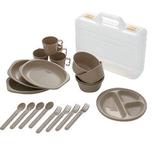 CampersCollection(キャンパーズコレクション) デイパーティー食器セット(4人用6種類) PCW-12 NA