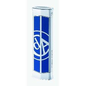 CARAN d ACHE(カランダッシュ) CARAN d'ACHE 電子ライター ロジウムCd'Aロゴ青