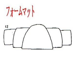 ALLY(アリー) アリー 811-16.5フィート用フォームマット