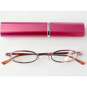 gowell(ゴーウェル) コンパクトなペン型老眼鏡 ZR400 +3.0 ピンク