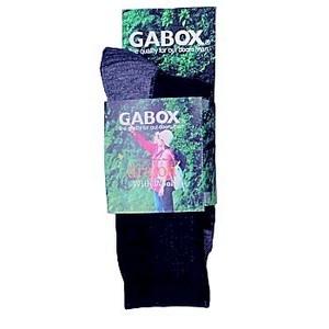 GABOX(ガボックス) ドラロン備長炭ソックス M ネイビー