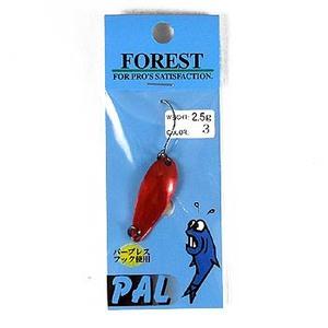 FOREST(フォレスト) PAL(パル) 2.5g 3 両面赤