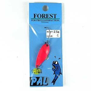 FOREST(フォレスト) PAL(パル) 2.5g 4 蛍光ピンク