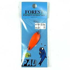 FOREST(フォレスト) PAL(パル) 2.5g 5 蛍光オレンジ