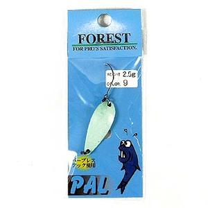 FOREST(フォレスト) PAL(パル) 2.5g 9 ライトブルー