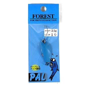 FOREST(フォレスト) PAL(パル) 2.5g 10 ブルー