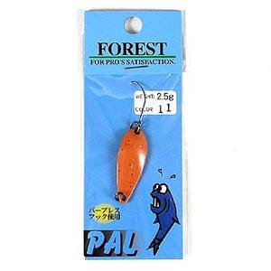 FOREST(フォレスト) PAL(パル) 2.5g 11 サーモンピンク/赤ラメ