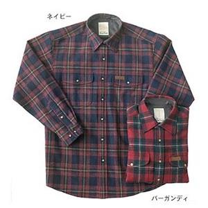 Fox Fire(フォックスファイヤー) ウォッシャブルウールクラシックチェックシャツ L バーガンディ