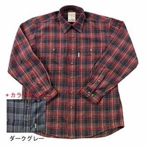 Fox Fire(フォックスファイヤー) QDCダークチェックシャツ L 022ダークグレー