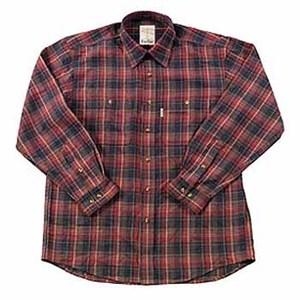 Fox Fire(フォックスファイヤー) QDCダークチェックシャツ S 076ブラウン