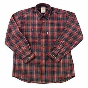 Fox Fire(フォックスファイヤー) QDCダークチェックシャツ L 076ブラウン