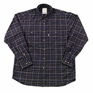 Fox Fire(フォックスファイヤー) QDCツイルチェックシャツ S 046ネイビー