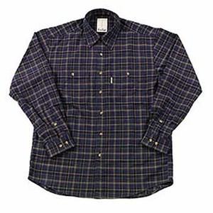 Fox Fire(フォックスファイヤー) QDCツイルチェックシャツ XL 046ネイビー