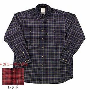 Fox Fire(フォックスファイヤー) QDCツイルチェックシャツ S 080レッド