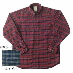 Fox Fire(フォックスファイヤー) サーマスタットツイルチェックシャツ L 046ネイビー