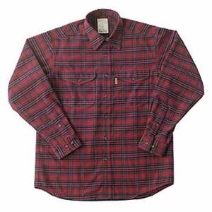 Fox Fire(フォックスファイヤー) サーマスタットツイルチェックシャツ L 082バーガンディー