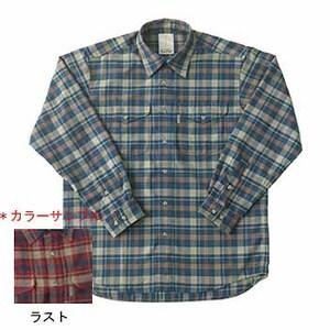 Fox Fire(フォックスファイヤー) サーマスタットヘリンボーンチェックシャツ L 083ラスト