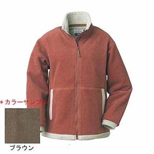 Fox Fire(フォックスファイヤー) ポーラツィードウィンドプルーフジャケット M 076ブラウン