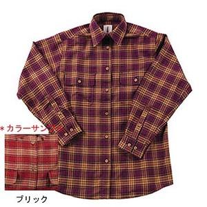 Fox Fire(フォックスファイヤー) サーマスタットシャギーチェックシャツ L 079ブリック