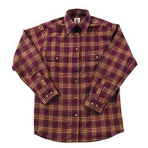 Fox Fire(フォックスファイヤー) サーマスタットシャギーチェックシャツ L 091ボルドー