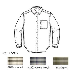 Columbia(コロンビア) ウェストンパスシャツ XL 425(Columbia Navy)