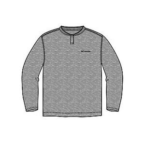 Columbia(コロンビア) コロンビアグレイシャーヘンリーネックTシャツ XS 072(Grey Heather)