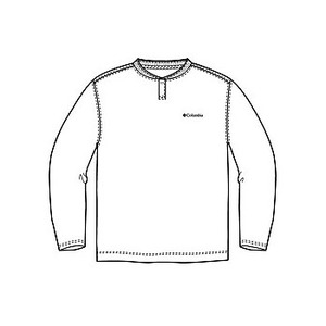 Columbia(コロンビア) コロンビアグレイシャーヘンリーネックTシャツ XL 100(White)