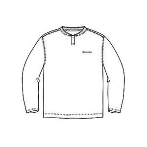 Columbia(コロンビア) コロンビアグレイシャーヘンリーネックTシャツ XS 100(White)