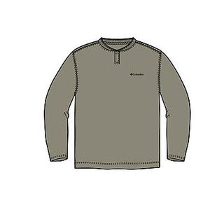 Columbia(コロンビア) コロンビアグレイシャーヘンリーネックTシャツ XS 221(Tusk)