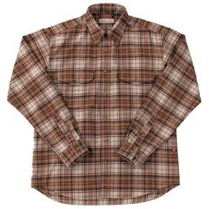 Fox Fire(フォックスファイヤー) サーマスタットプレイドシャツ M's S 076(ブラウン)