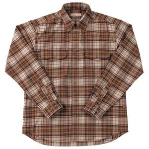 Fox Fire(フォックスファイヤー) サーマスタットプレイドシャツ M's L 076(ブラウン)