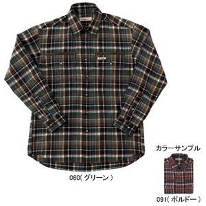 Fox Fire(フォックスファイヤー) テクノファインダークチェックシャツ M's S 091(ボルドー)