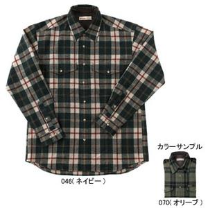 Fox Fire(フォックスファイヤー) ウォッシャブルウールツィルプレイドシャツ M's L 070(オリーブ)