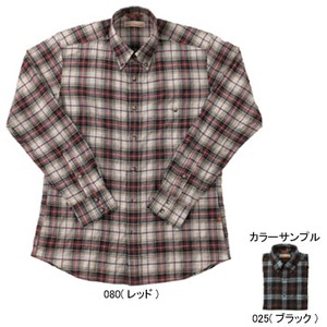 Fox Fire(フォックスファイヤー) トランスウェットシェブロンチェックシャツ M's M 025(ブラック)
