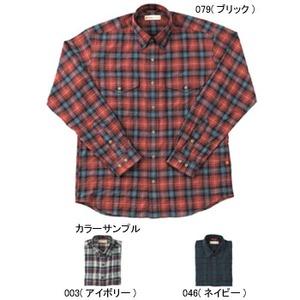 Fox Fire(フォックスファイヤー) トランスウェットティピカルチェックシャツ M's S 046(ネイビー)