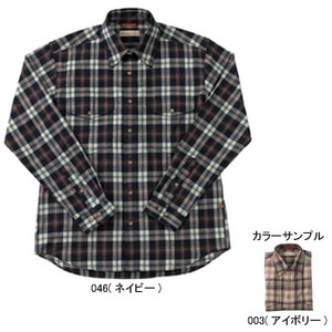 Fox Fire(フォックスファイヤー) トランスウェットブラードチェックシャツ M's S 003(アイボリー)