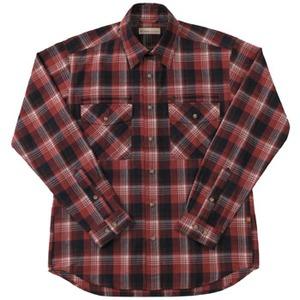 Fox Fire(フォックスファイヤー) トランスウェットセピアチェックシャツ M's L 080(レッド)