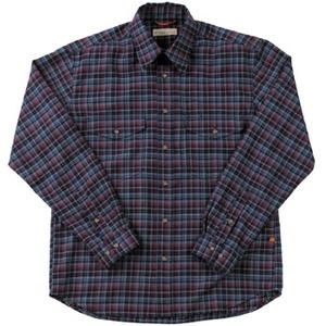 Fox Fire(フォックスファイヤー) トランスウェットミルドツィルチェックシャツ M's XL 046(ネイビー)