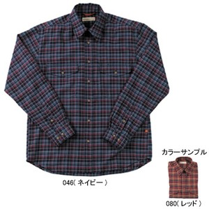 Fox Fire(フォックスファイヤー) トランスウェットミルドツィルチェックシャツ M's S 080(レッド)