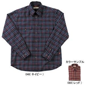 Fox Fire(フォックスファイヤー) トランスウェットミルドツィルチェックシャツ M's L 080(レッド)