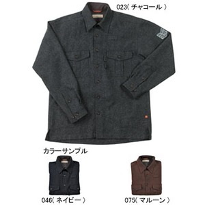 Fox Fire(フォックスファイヤー) ウォッシャブルウールプレーンオーバーシャツ M's XL 075(マルーン)