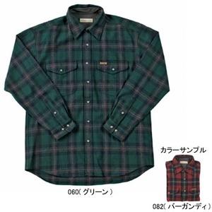 Fox Fire(フォックスファイヤー) ウォッシャブルウールクラシックチェックシャツ M's M 082(バーガンディ)