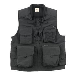 Fox Fire(フォックスファイヤー) フォトレックファンクションベストII M's L 025(ブラック)