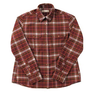 Fox Fire(フォックスファイヤー) QDソフトプレイドチェックシャツ W's S 082(バーガンディ)
