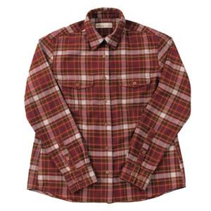 Fox Fire(フォックスファイヤー) QDソフトプレイドチェックシャツ W's L 082(バーガンディ)