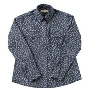Fox Fire(フォックスファイヤー) QDCフラワーシャツ W's L 046(ネイビー)