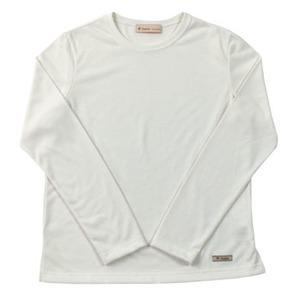 Fox Fire(フォックスファイヤー) トランスウェットRプレーンTシャツ L/S W's M 002(オフホワイト)